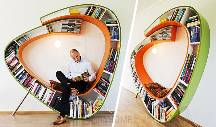 Уютный уголок BookWorm от Atelier
