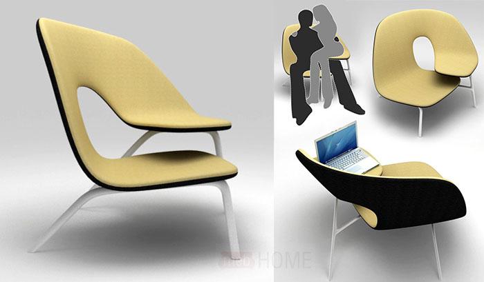 Кресло для двоих Clingy Lovers