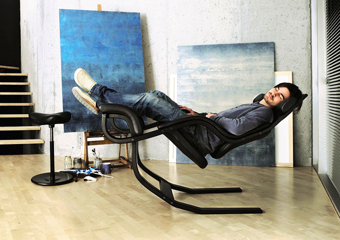 Балансирующее кресло Питера Опсвика