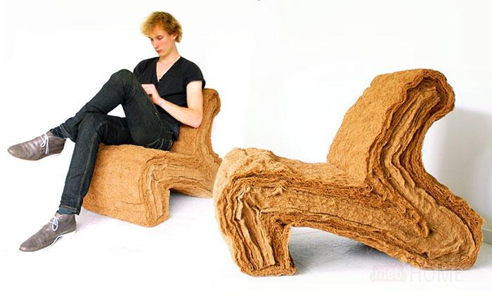 Кресло из кокоса от Jorrit Taekema