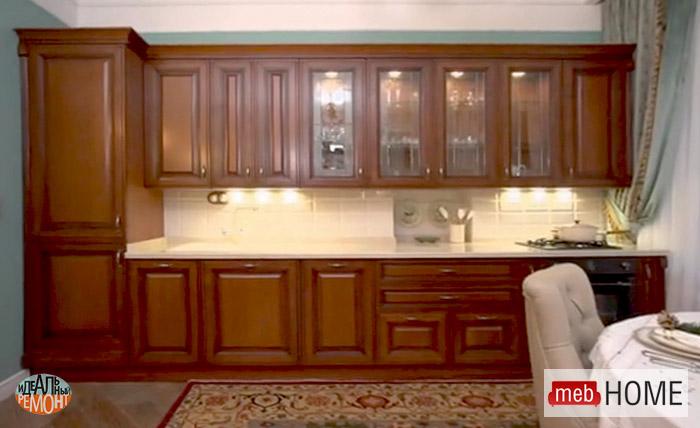 Кухня Витра для Валентины Титовой в Идеальном ремонте