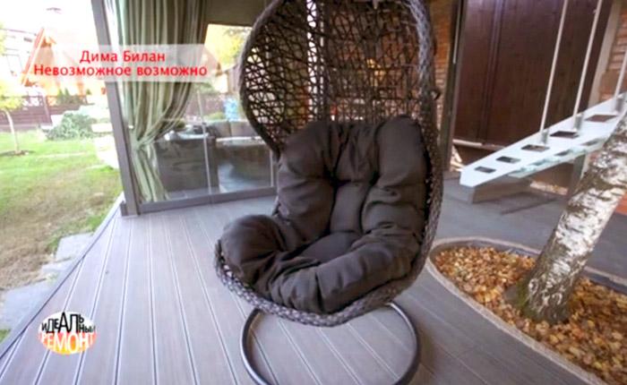 Подвесное кресло для Димы Билана
