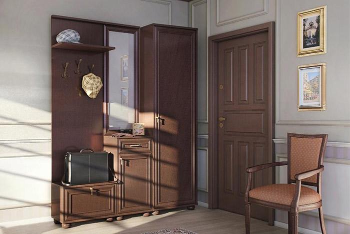 Уютная классическая прихожая Столплит Верди