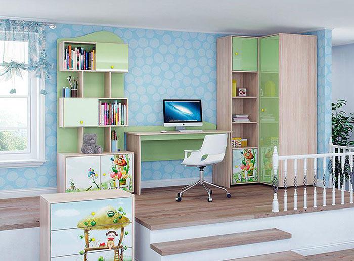 Шкафы для книг (Детская Витра)