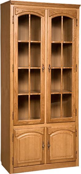 Шкаф с витриной Бобруйскмебель Элбург, БМ-1747