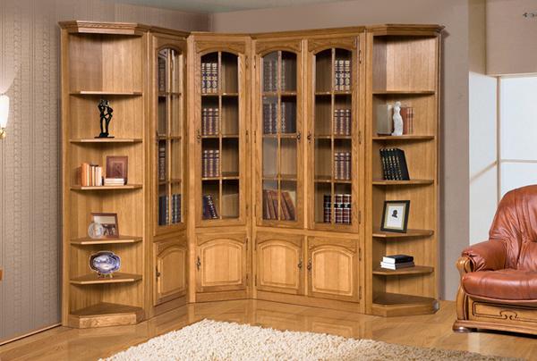 Домашняя библиотека - шкафы для книг (Бобруйскмебель)