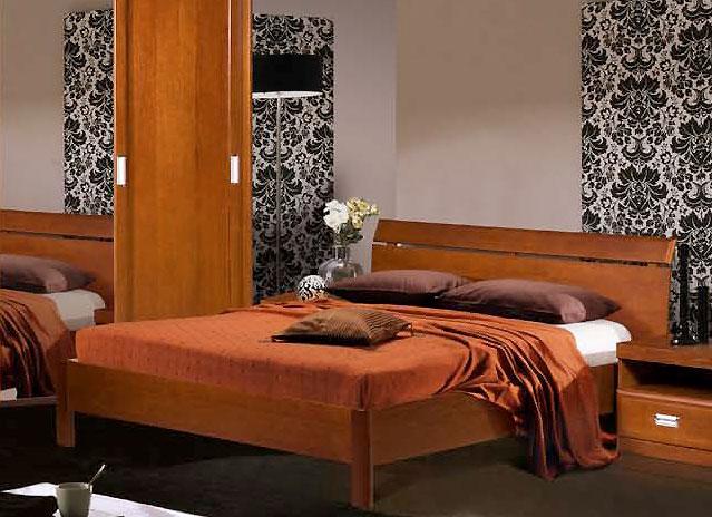 Кровать Валенсия с заглушкой спинка-решетка (160) Бобруйскмебель, БМ-1601