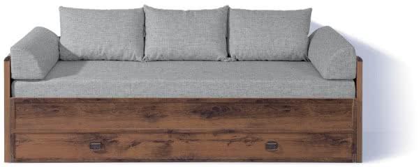 Диван-софа BRW Индиана (раздвижной) с матрасом и подушками JLOZ80/160