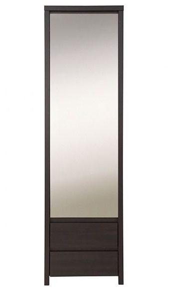 Шкаф с зеркалом Каспиан BRW SZF1D2S/56