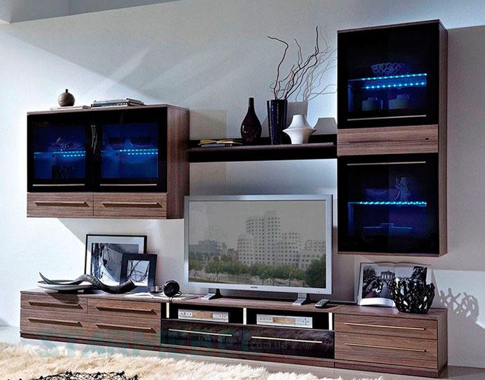 Стенка с ТВ-тумбой Like BRW