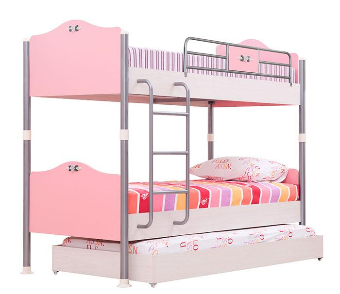 Кровать 3-х ярусная 90 Calimera Bouquet, B408-M1+B407