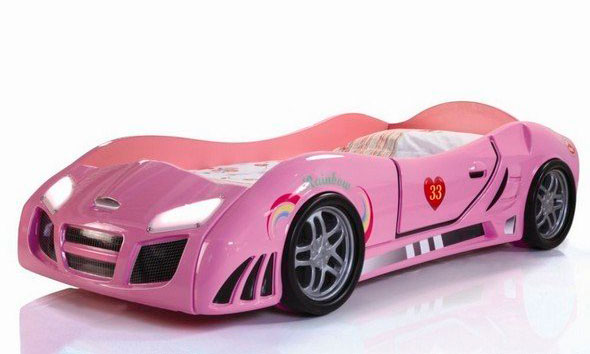 Кровать-машина Calimera Turbo Pink T505-PWP