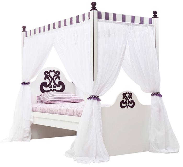 Кровать 90 с москитной сеткой Calimera Cute, C111
