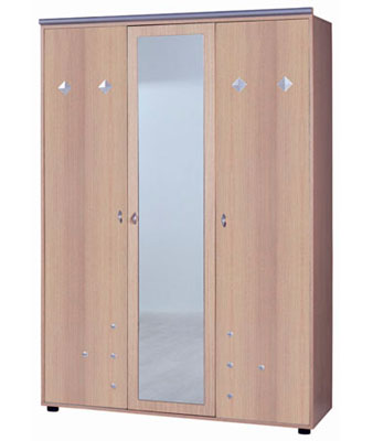 Шкаф 3х дверный с зеркалом Calimera Dynamic, D-603