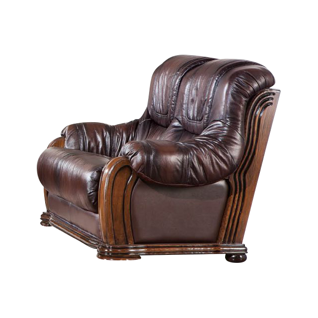 Диван ESF Castello (2-х местный) коричневый