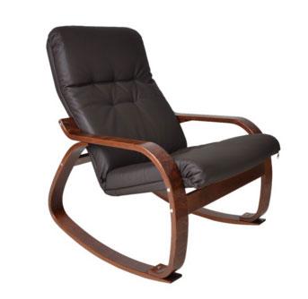 Кресло-качалка ЭкоДизайн Сайма (экокожа)