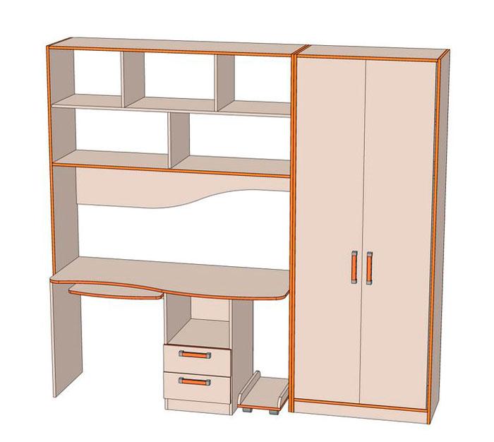 Комплект мебели для детской Джуниор 3