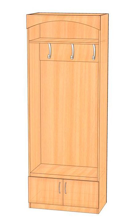 Шкаф-вешалка Эгида  мод.2