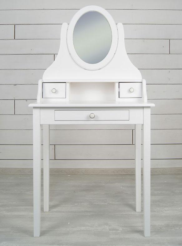 Стол Этaжepкa Adelina туалетный с зеркалом, DM1038ETG