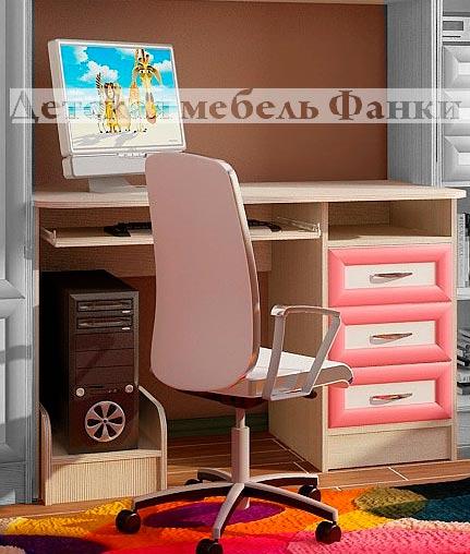 Стол письменный Фанки Кидз 13/1 СВ МДФ