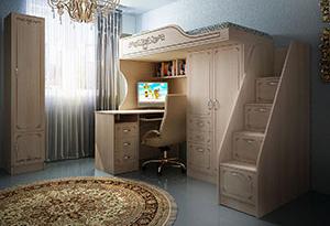 Детская мебель Фанки Классика
