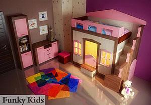 Детская мебель Фанки Хоум