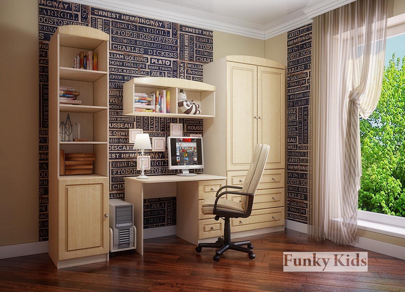 Мебель для детской Фанки Крем, комплектация 3
