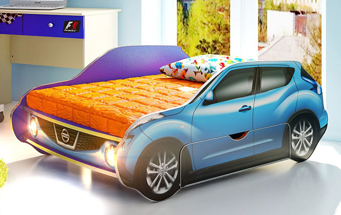 Кровать-машина Ниссан жук