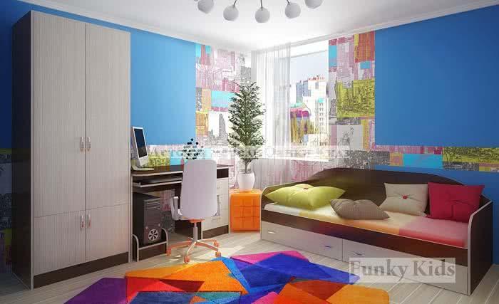 Модульная мебель Фанки Кидз Уголок школьника 8