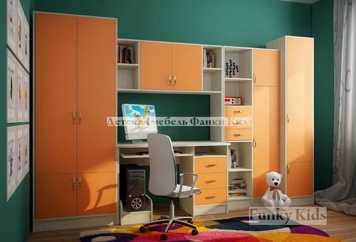 Модульная мебель Фанки Кидз Уголок школьника 2