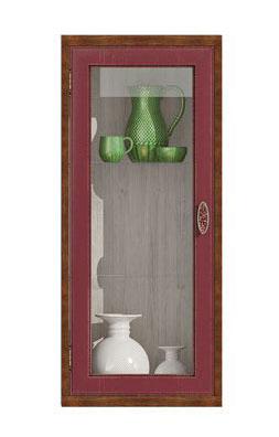 Полка-витрина вертикальная Фран Диего, СВ-364В