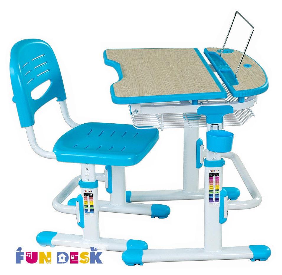 Парта и стул FunDesk Colore