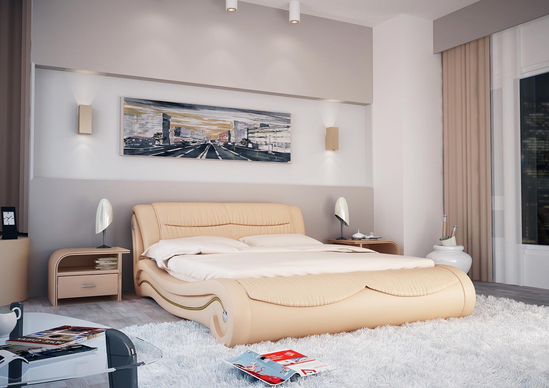 Кровать Гармония Olivia (Комби)