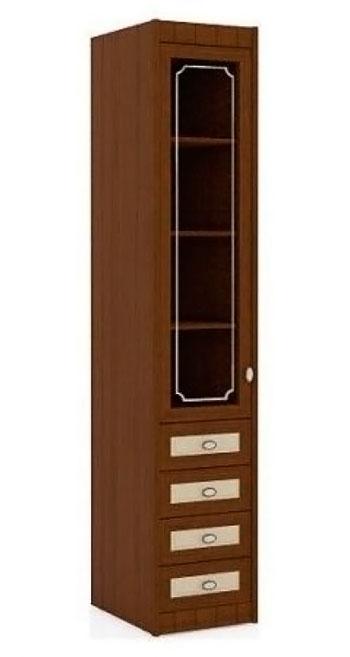 Шкаф одностворчатый (стекло) Итальянские мотивы, арт. 51.201.05