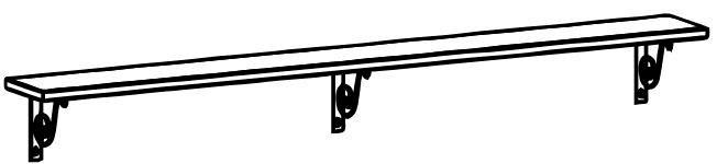 Полка 197 Итальянские мотивы, арт. 52.607.01