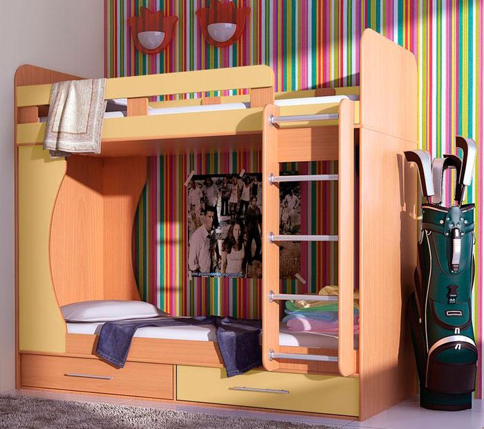 Кровать двухъярусная Гармония Дуэт 1