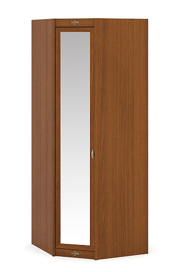 Шкаф угловой (зеркало) Корвет, арт. 52.203.03