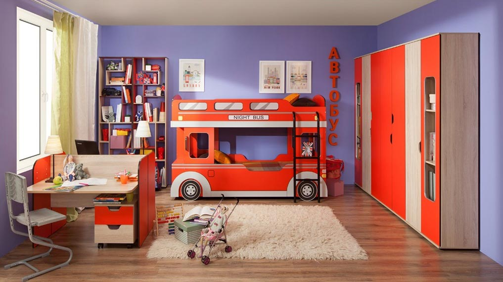 Мебель для детской комнаты Глазов Автобус 2