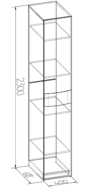 Шкаф для белья Глазов Амели 12