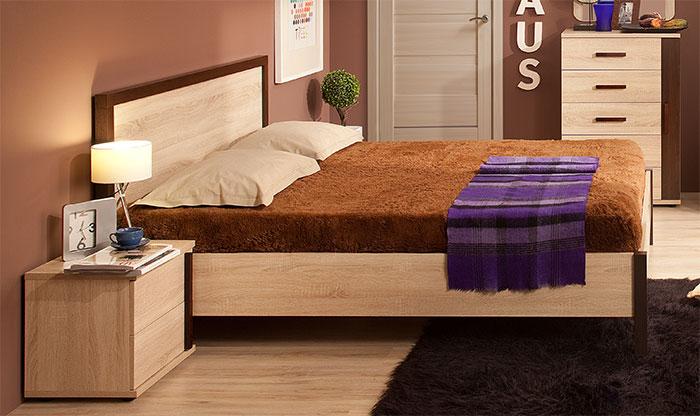 Кровать 3 (140) Глазов Bauhaus