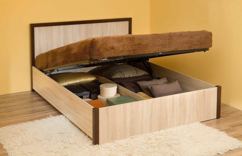 Кровать 3.2 Глазов Bauhaus (140) с подъемным механизмом