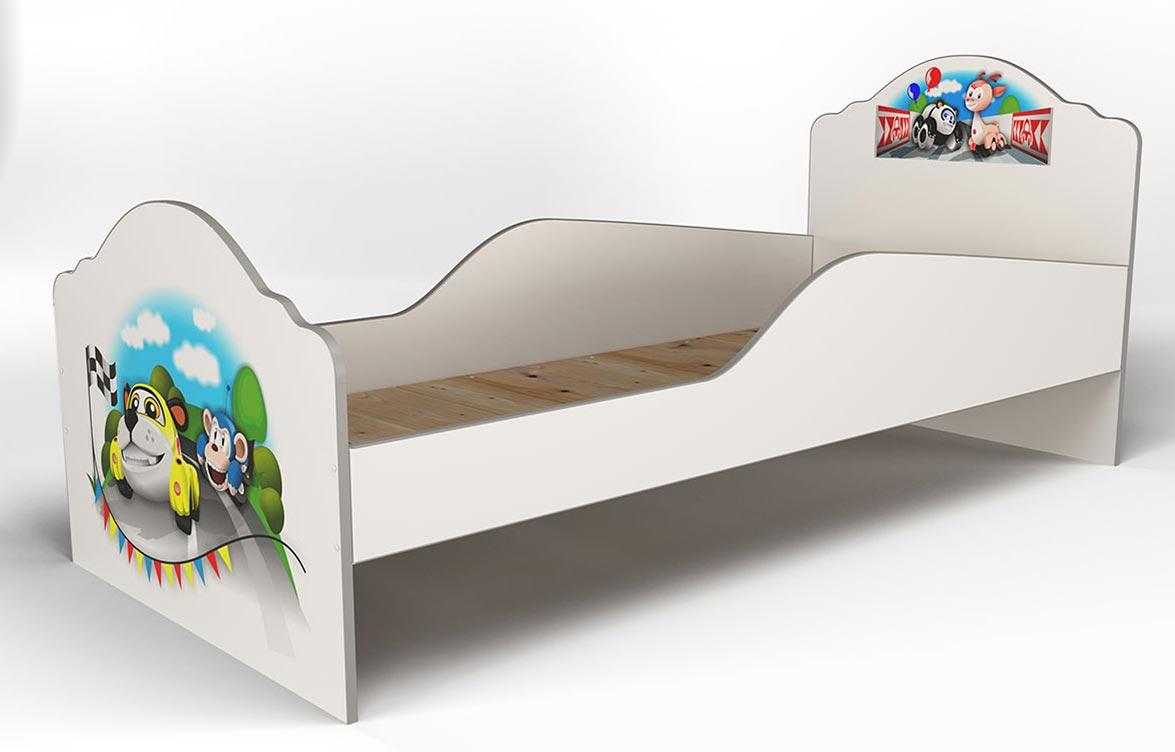 Кровать Грифон Стайл Авто зверята (80х180)