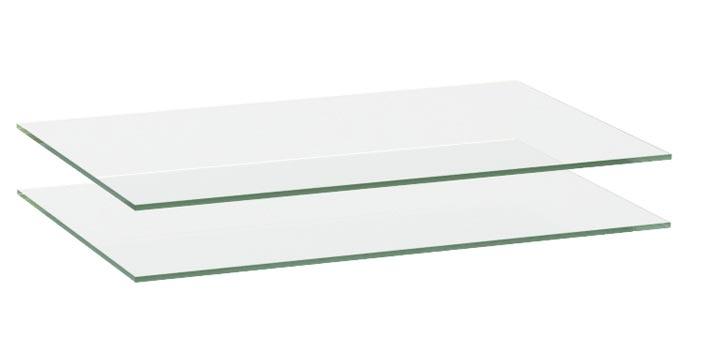 Комплект полок стекло Луара, арт.: ЛУ-018.04