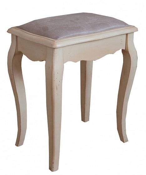 Табурет с мягким сиденьем Belveder Blanc bonbon, ST9313