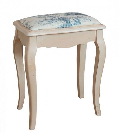 Табурет с мягким сиденьем Belveder Blanc bonbon, ST9313 A