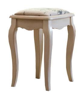 Табурет с мягким сиденьем Belveder Blanc bonbon, ST9313 B