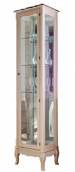 Витрина стеклянная (высокая) Belveder Blanc bonbon, ST9319 R