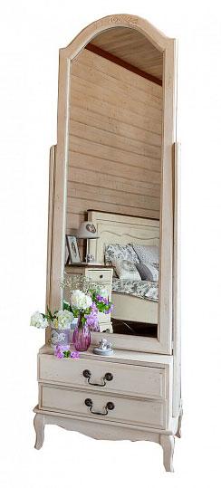 Зеркало напольное Belveder Blanc bonbon, ST9322