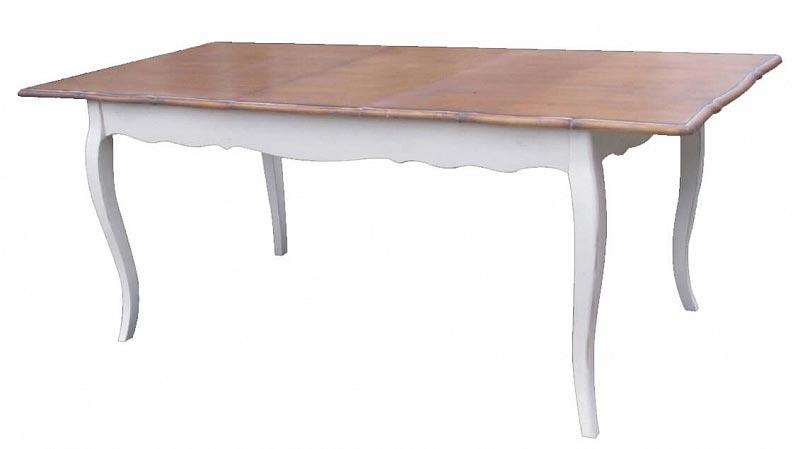 Стол обеденный раскладной Belveder Blanc bonbon, ST9337L