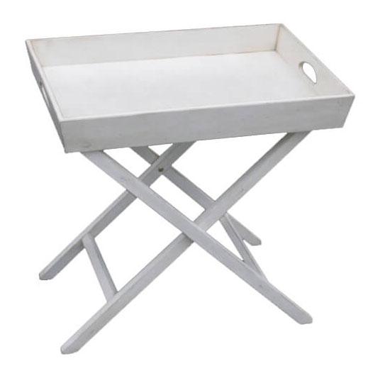 Столик раскладной Belveder Blanc bonbon, ST9345